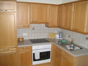 Kochnische im Appartement
